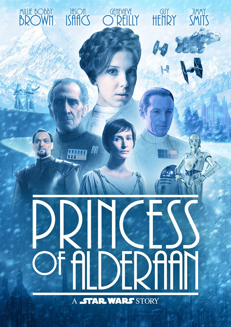 Illustration for article titled Princess of Alderaan - A Star Wars Story