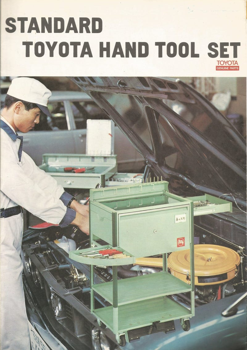 Illustration for article titled 1972 Toyota Tool Catalog