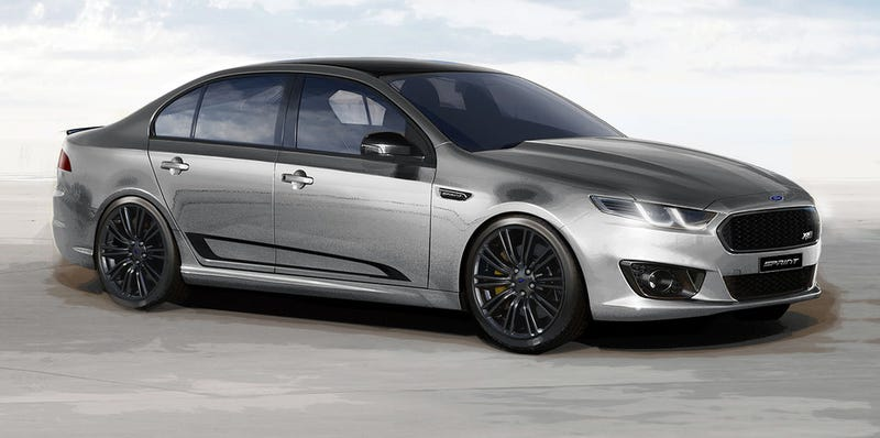 Illustration for article titled 2016 Ford Falcon XR8 Sprint, XR6 Turbo Sprint Revealed