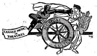 Illustration for article titled Robots vs. Musicians (1931)
