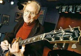 Illustration for article titled Les Paul, Inventor Of The Solid-Body Electric Guitar, Dies At 94