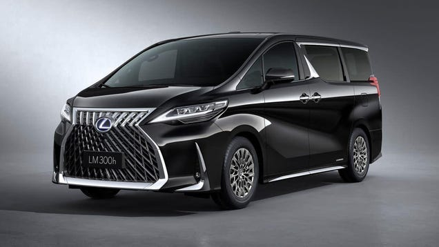 b0e4173adaf982 This Lexus LM Minivan Might Be the Ugliest Thing I ve Ever Seen and ...