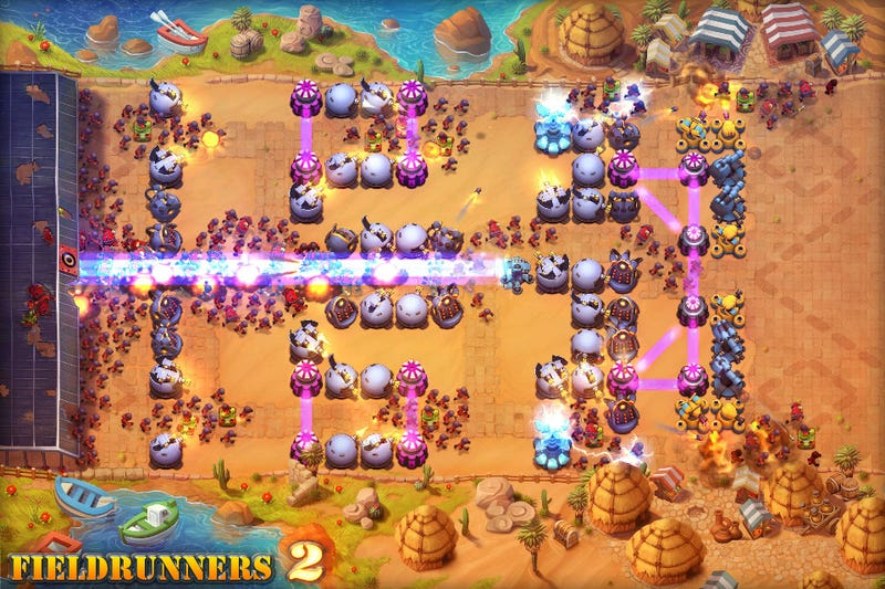 Illustration for article titled Fieldrunners 2 Takes the iOS Field on July 19