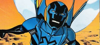 Illustration for article titled Is a Blue Beetle live-action TV series on the way?