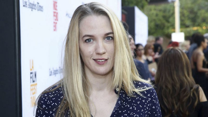Emily Carmichael at the premiere of Book of Henry.