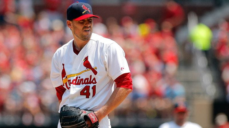 Illustration for article titled Cardinals To Donate $1,000 To Charity Every Time John Lackey Hits A Batter