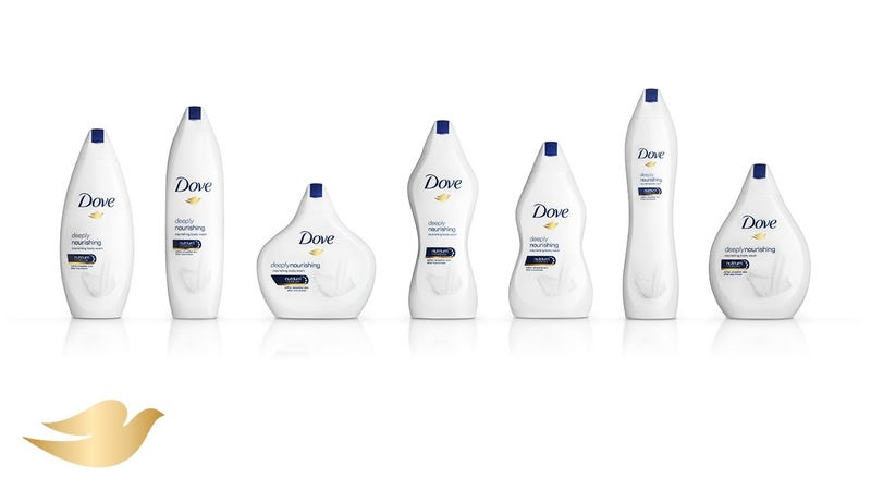 Dove's New Diversity in Bottle Shapes Campaign Is Hilariously Stupid