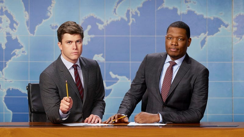 Colin Jost, Michael Che (Photo: Mark Ellen Matthews/NBC)
