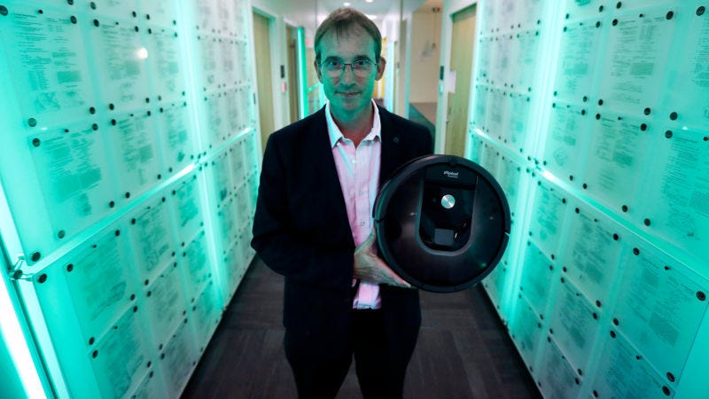 El CEO de iRobot, Colin Angle. Foto: iRobot