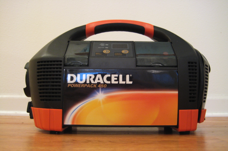Illustration for article titled Lightning Review: Duracell Powerpack 450 Talking Portable Power Unit