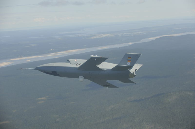 The Stealthy Barracuda Uav Is Germanys Future Flying Force