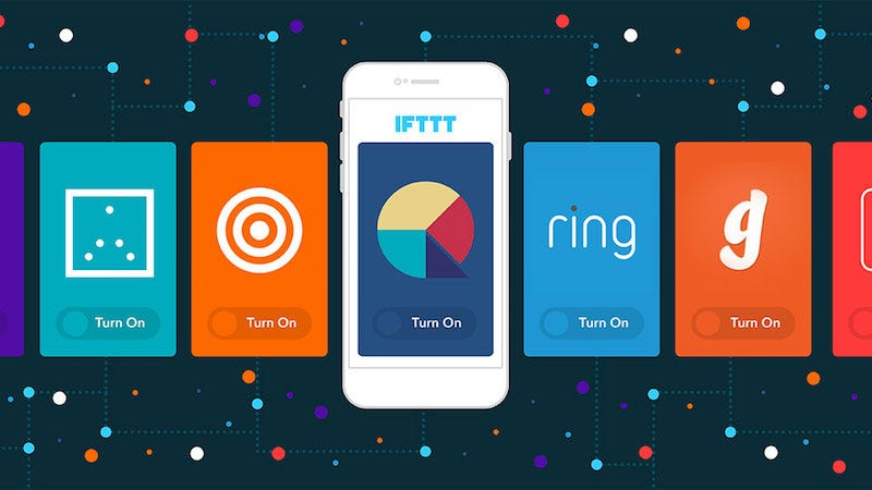 Illustration for article titled You Can Now Set Up and Launch IFTTT Recipes From Third-Party Apps