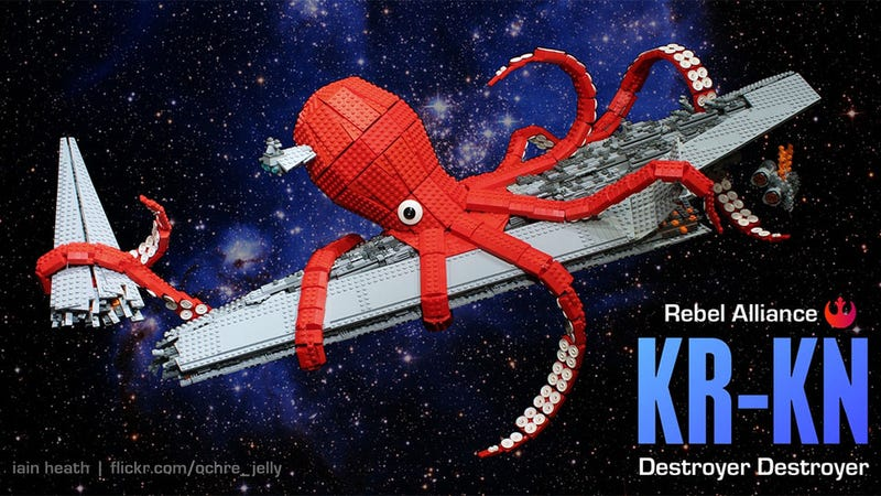 Illustration for article titled The Rebel Alliance's Secret Weapon Is This Giant Space Kraken