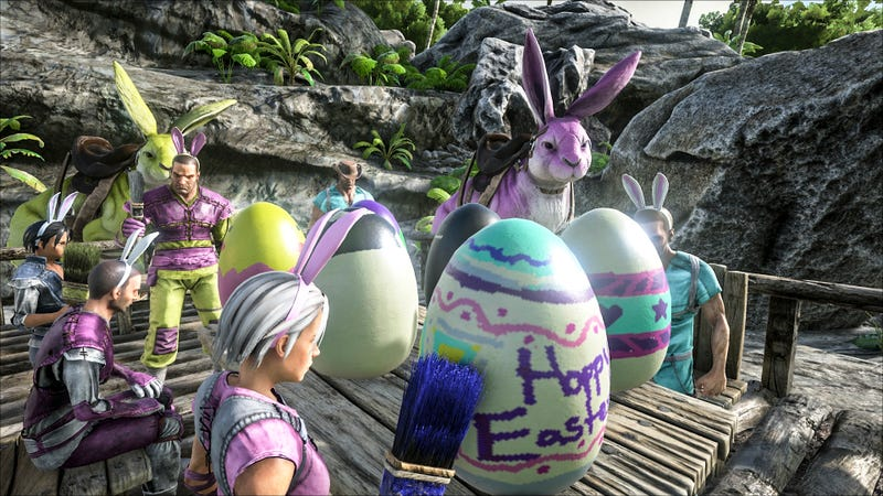 Illustration for article titled Why Console Ark Players Are Celebrating Easter A Week Late