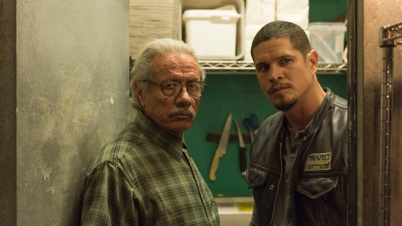 Edward James Olmos (left), JD Pardo