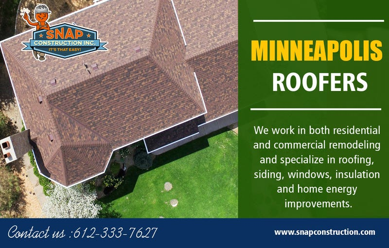 Illustration for article titled Minneapolis Roofers | Call us 6123337627 | snapconstruction.com