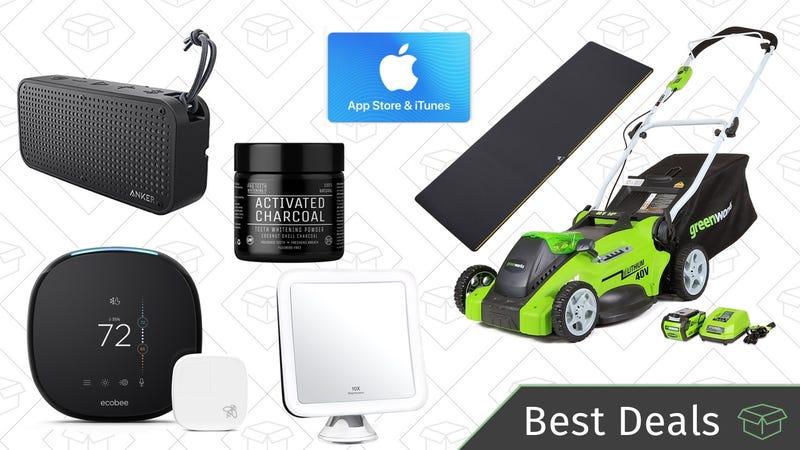 Monday's Best Deals: Smart Thermostat, Waterproof Speaker, iTunes ...