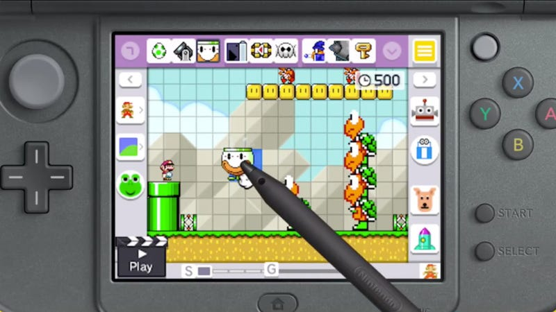 Illustration for article titled Modders Adding Missing Sharing Features To Mario Maker 3DS