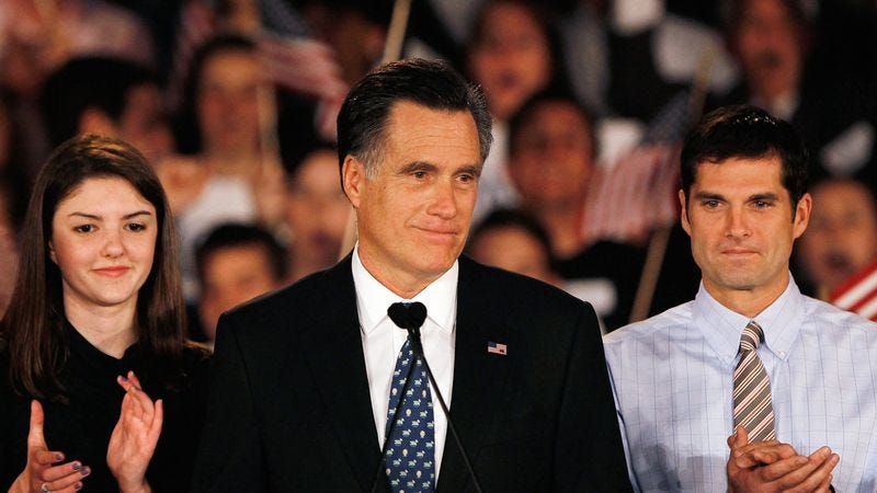 Illustration for article titled 'I Want To Congratulate The President,' Romney Says In 240,000th And Final Lie Of Campaign
