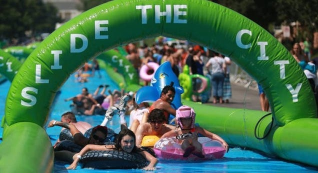 Water Slides, Preservation, Ebola: What's Ruining Our Cities This Week