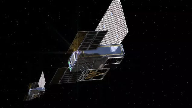 NASA s Tiny, Mars-Bound Satellites Have Successfully Signaled Home