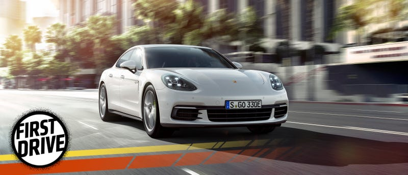 The 2018 Porsche Panamera 4 E Hybrid Is A Tech House That Crumbles Under Its Own Weight