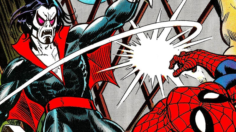 Image result for spider-man morbius