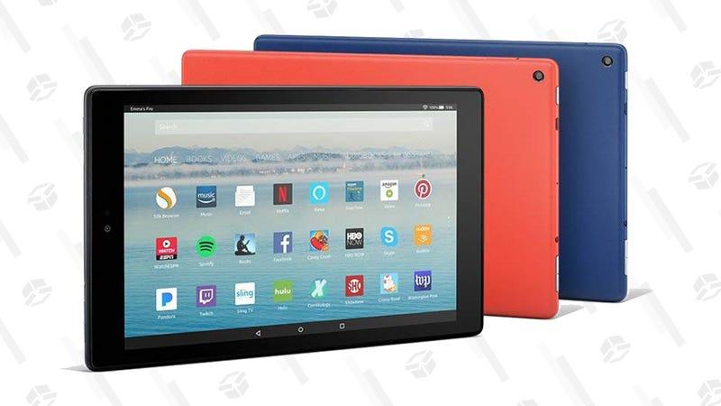 Fire HD 10 Tablet   $100   AmazonGráfico: Elizabeth Zimmerman