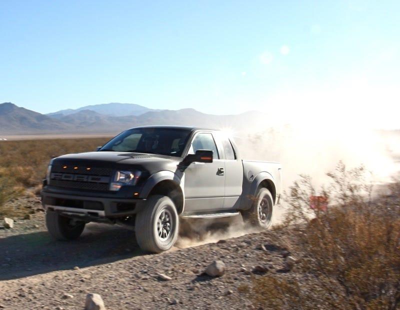 Illustration for article titled Ford F-150 SVT Raptor Pricing Starts At $38,995!