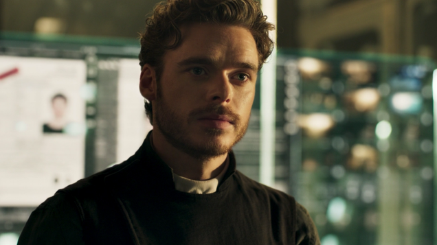 robb stark is a space priest in amazon s promising pilot oasis