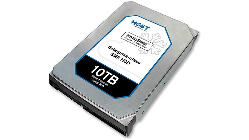 Illustration for article titled Sadly This 10TB Hard Drive Is Designed For Servers, Not Your Laptop