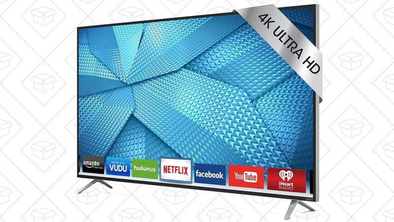 "Refurb VIZIO M-55 C2 50"" 4K Smart TV, $490"