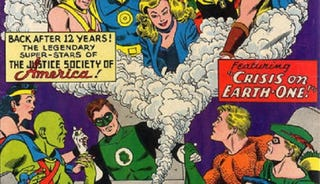 Illustration for article titled A History of DC Crossovers: The Silver Age