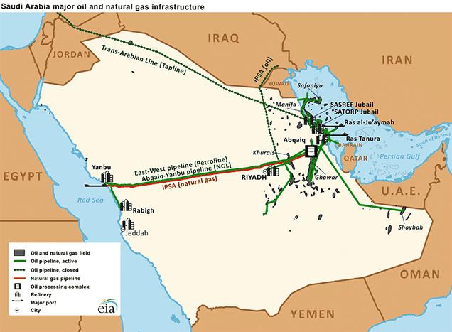 иран и саудовская аравия на карте комплект