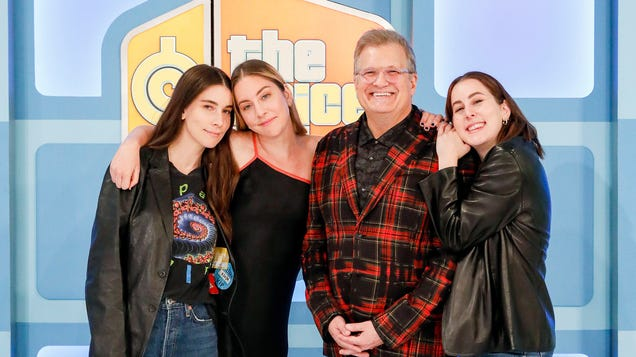 Watch Haim, Diplo, and Anderson .Paak have the time of their lives on The Price Is Right