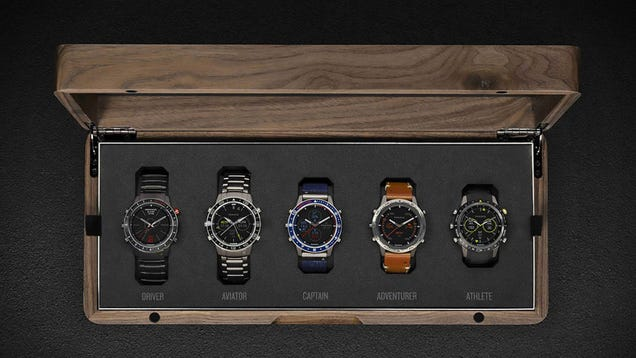 Garmin Will Charge You an Extra $450 To Buy Its Luxury Smartwatch Collection in a Wooden Box
