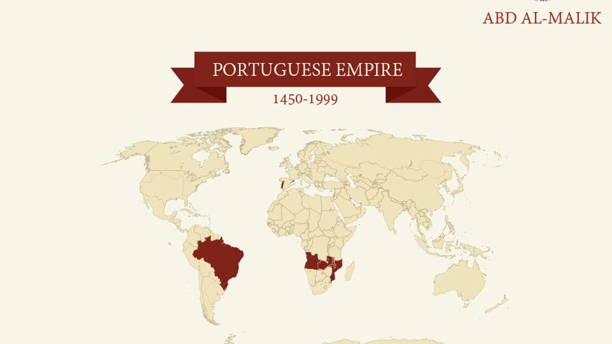 This Map Shows the Size of the World's Biggest Empires from