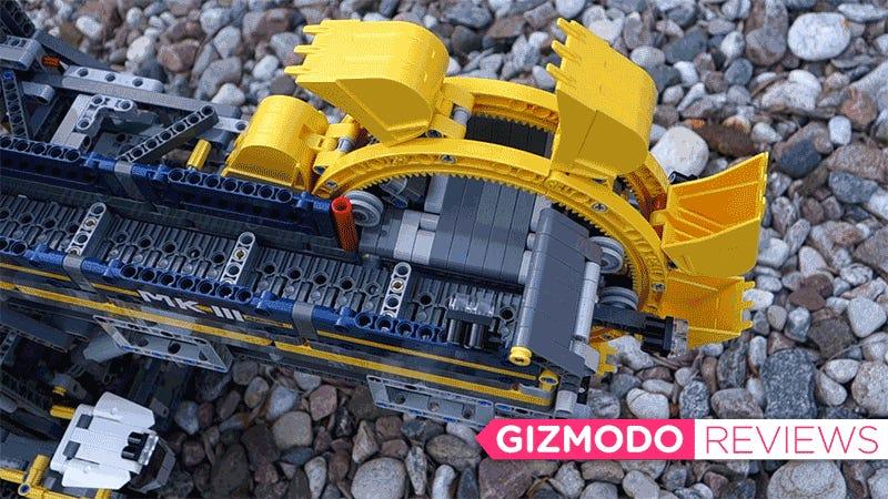 Building Lego S Gigantic Motorized Excavator Is Easily My