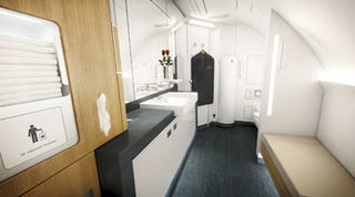 Lufthansas New Airbus A380s First Class Bathrooms Are Bigger Than Mine