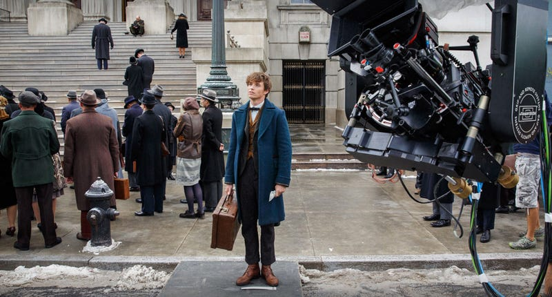 Eddie Redmayne is the star of Fantastic Beasts and Where to Find Them. He'll be back in a 2018 sequel that's already been written. Image: Warner Bros.