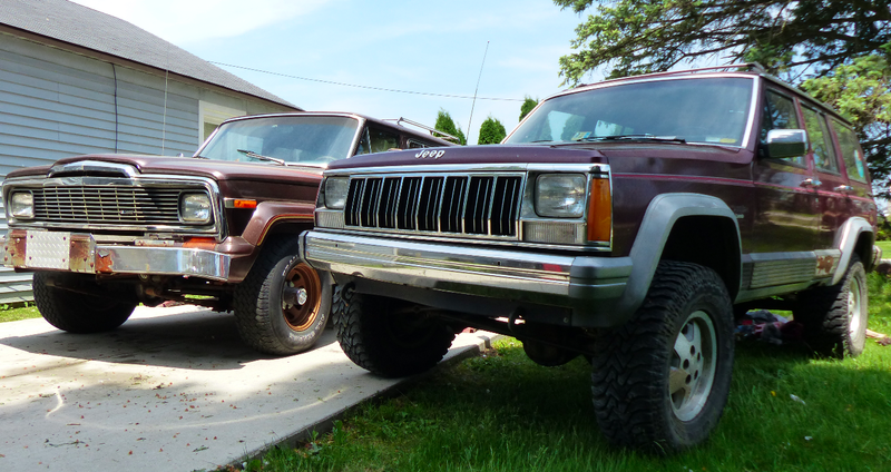 Illustration for article titled It's Incredible How Big Of A Quantum Leap The Jeep Cherokee XJ Was Over Its SJ Predecessor