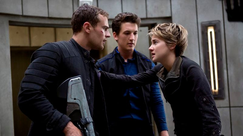 Illustration for article titled The Divergent sequel could use more style and less fidelity