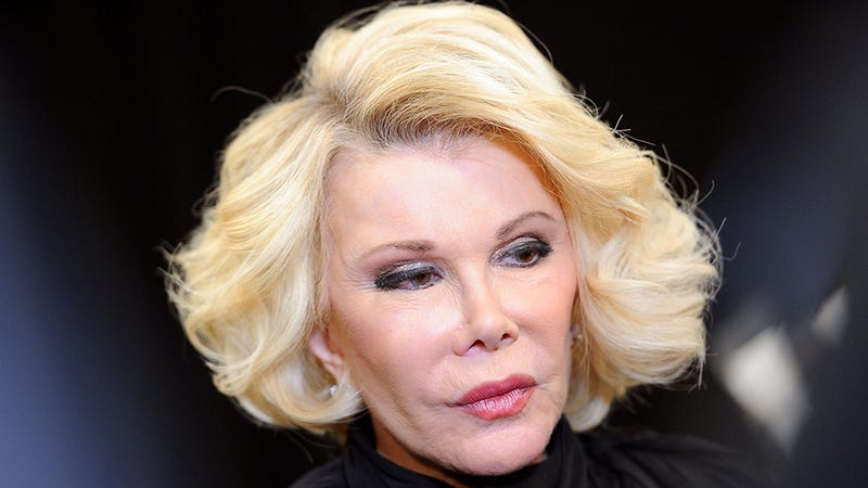 Illustration for article titled Academy Has Bullshit Reason for Not Including Joan Rivers in Tribute