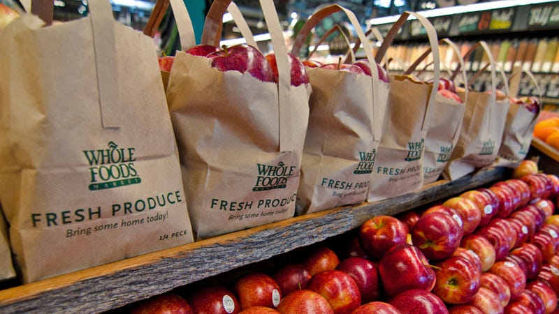 Amazon cuts prices on items at Whole Foods