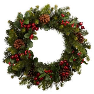Illustration for article titled Are wreaths for Christians?