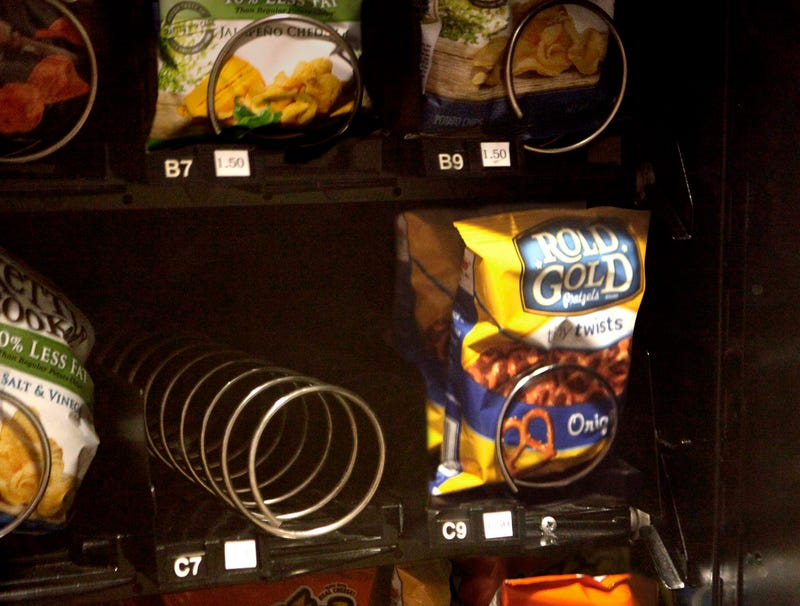 Illustration for article titled Snack That Resided In Empty Vending Machine Slot Must Have Been Delicious