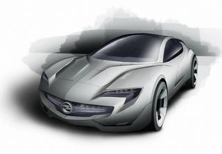 Illustration for article titled Opel Flextreme GT/E Concept: A Bigger, Longer, More Swoopy Volt