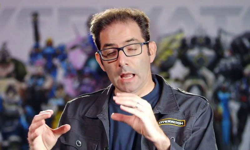 Illustration for article titled What Happened When The Guy Who Remixes Overwatch's Jeff Kaplan Met Jeff Kaplan