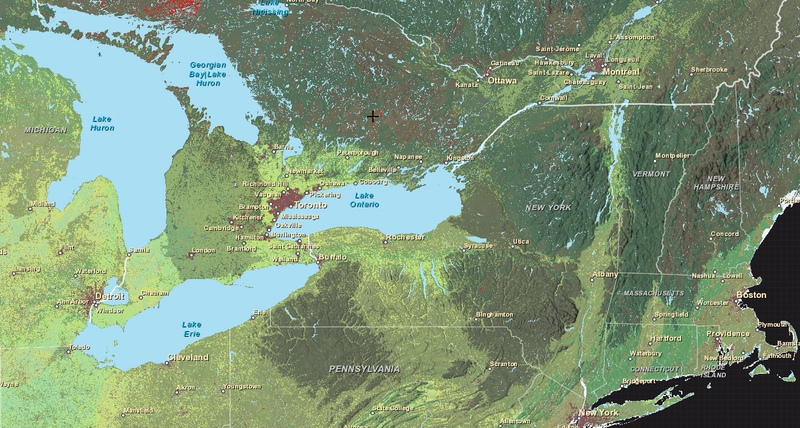 This Interactive Map Shows The Worlds Ecosystems In Freakish Detail – Map of the World Zoomable