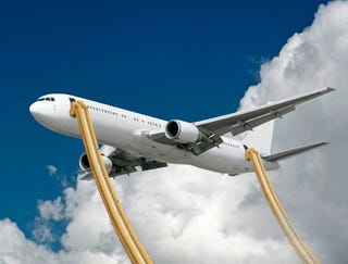 Illustration for article titled Boeing Unveils 40,000-Foot Emergency Slide